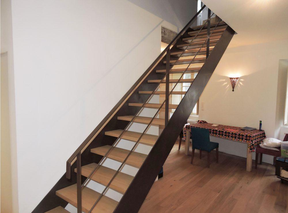 Escalier droit – Réf AGN