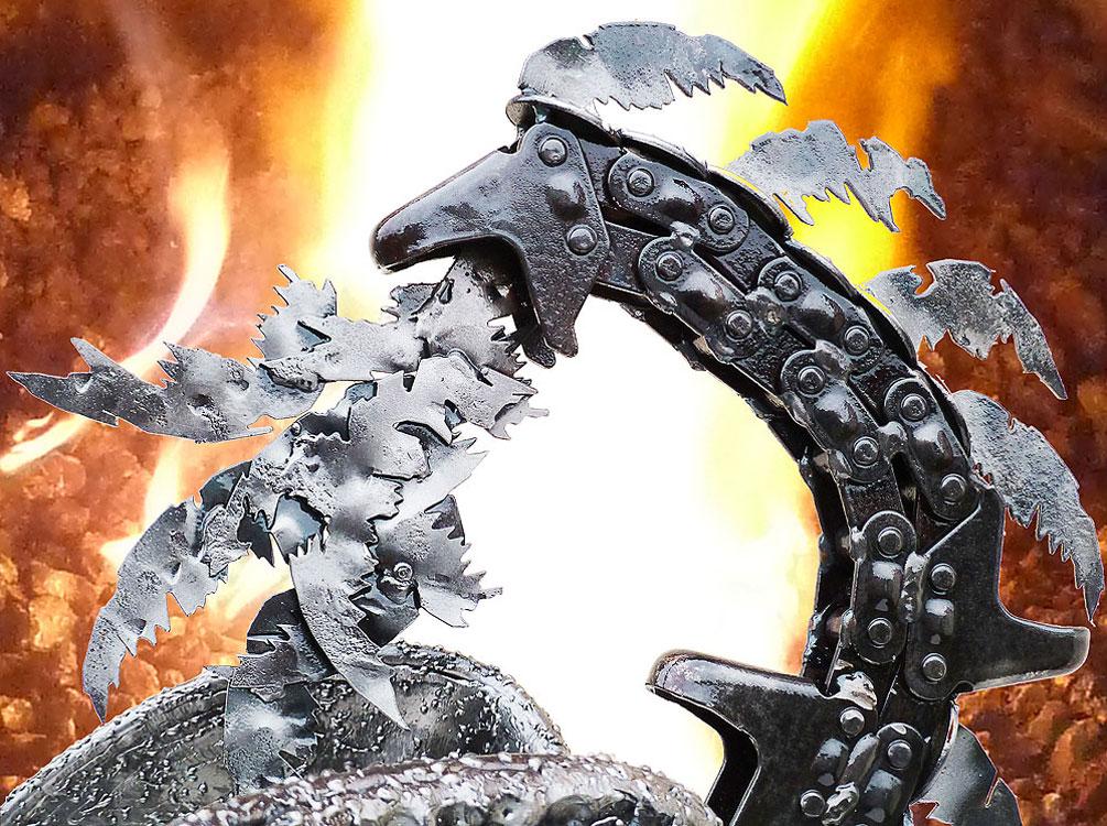 Le dragon d'acier
