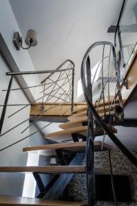 votre escalier en fer forgé, métal sur mesure