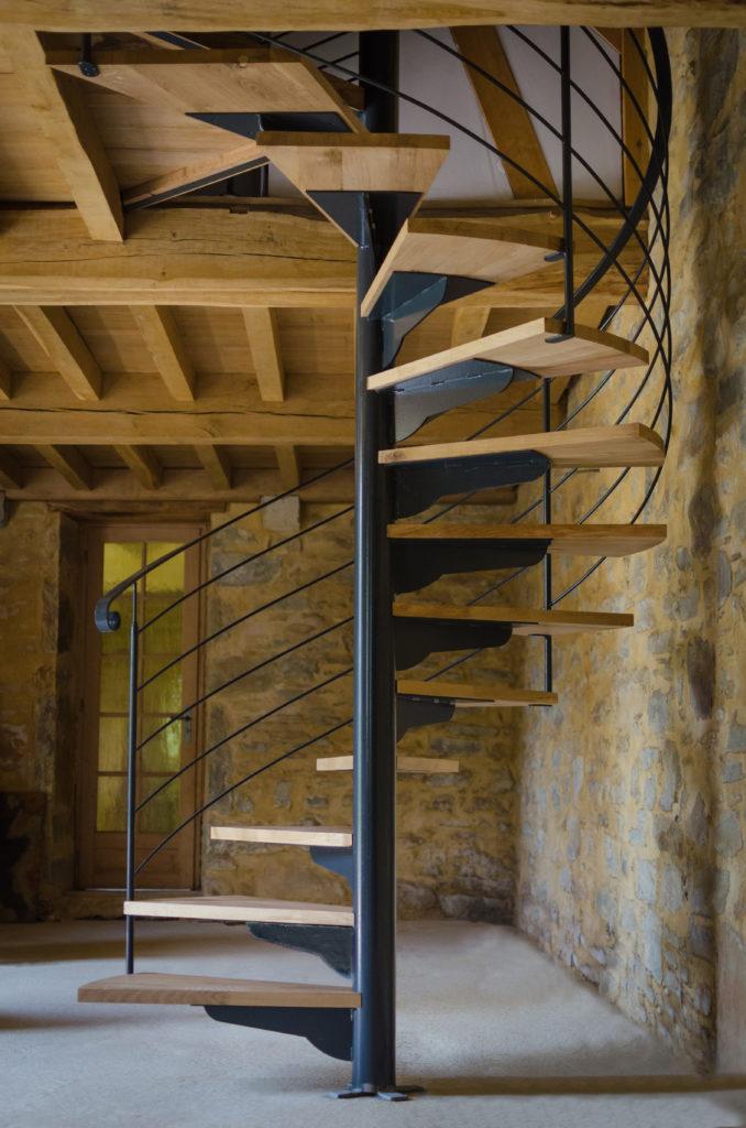 Fabricant escalier colimaçon, hélicoïdal