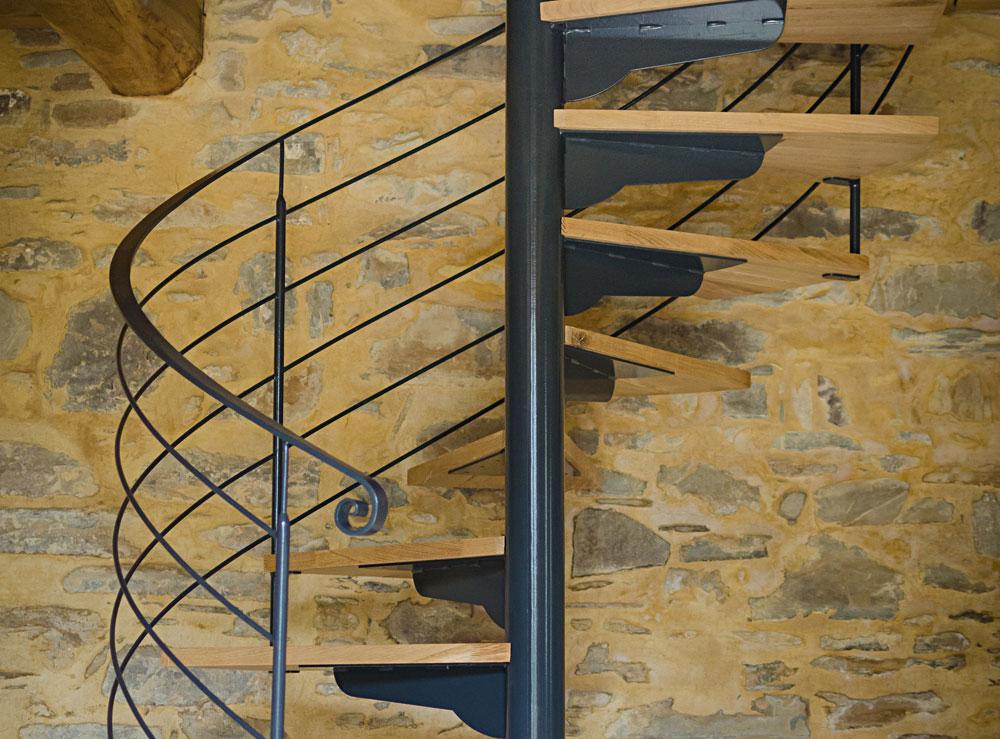 Escalier hélicoïdal– Réf GSU